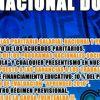 Paro nacional docente el 27 de septiembre