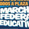 """ADF participará en la """"Marcha Federal Educativa"""" 20-21 y 22 de marzo"""