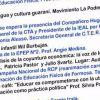 """Programa de actividades en la """"Escuela Pública Itinerante"""" para el viernes 19"""